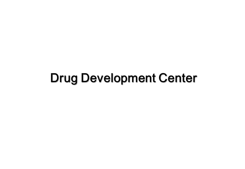Drug Development Center