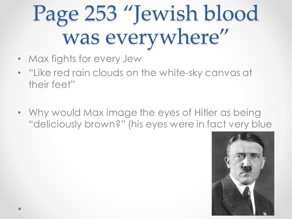 Page 253 Jewish blood was everywhere