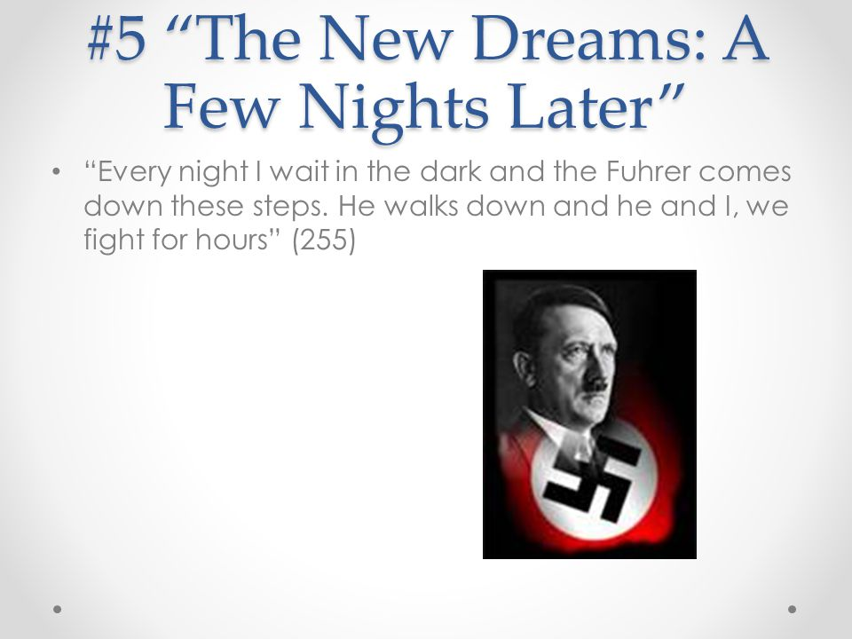 #5 The New Dreams: A Few Nights Later