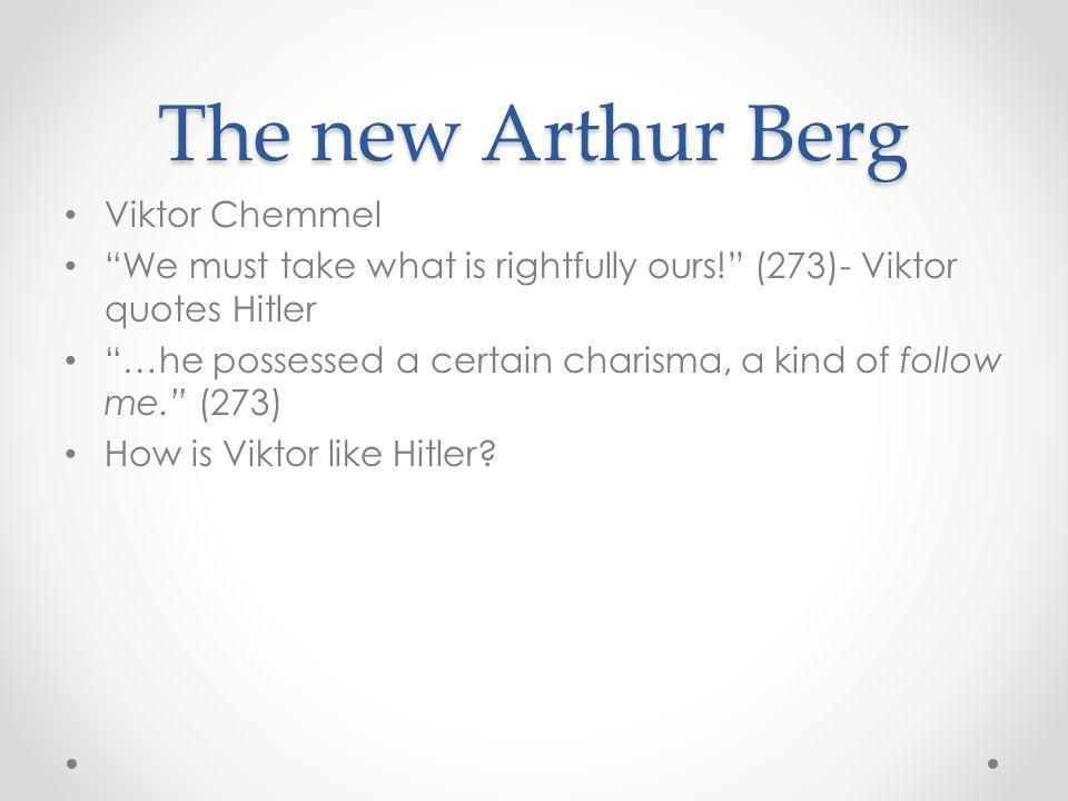 The new Arthur Berg Viktor Chemmel
