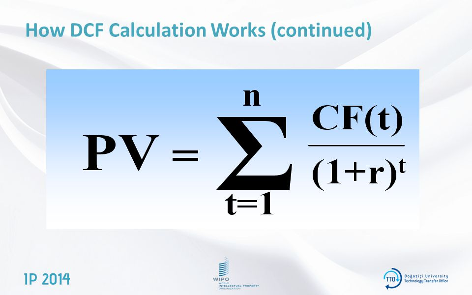 How DCF Calculation Works (continued)