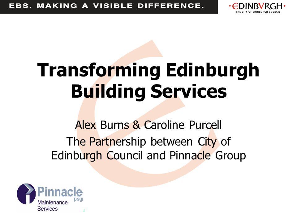 Transforming Edinburgh Building Services