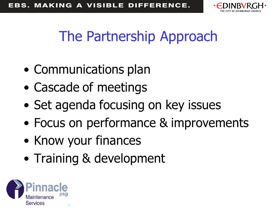 The Partnership Approach