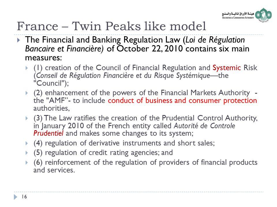 France – Twin Peaks like model