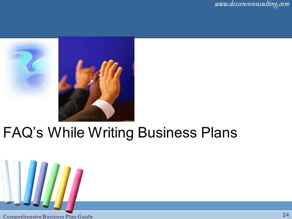 FAQ's While Writing Business Plans
