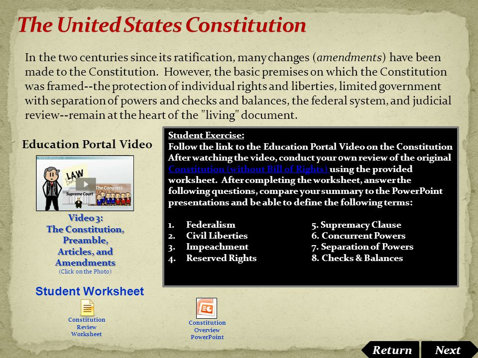 Separation of powers under the United States Constitution