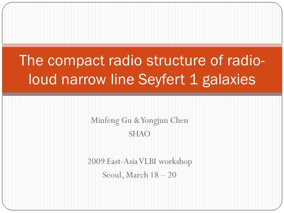 The compact radio structure of radio-loud narrow line Seyfert 1 galaxies