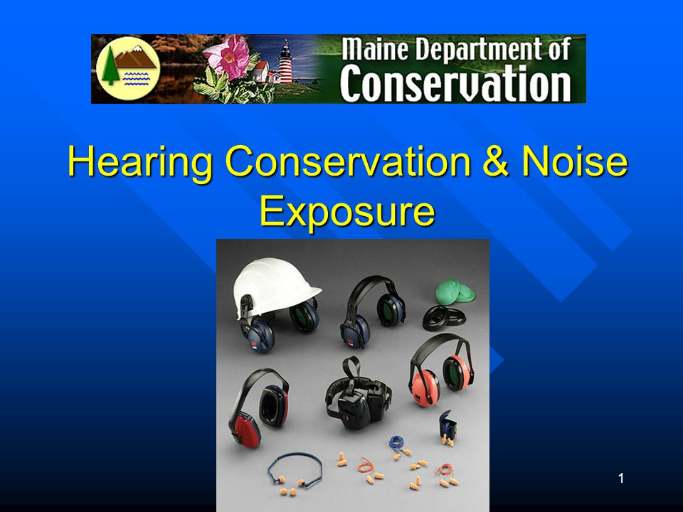 Hearing Conservation & Noise Exposure