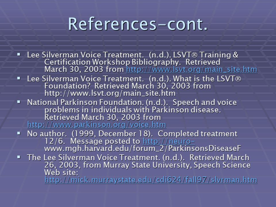 References-cont.