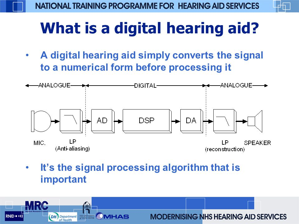 What is a digital hearing aid
