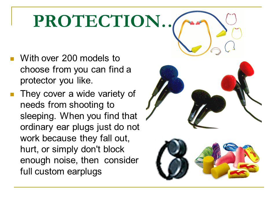 PROTECTION… With over 200 models to choose from you can find a protector you like.