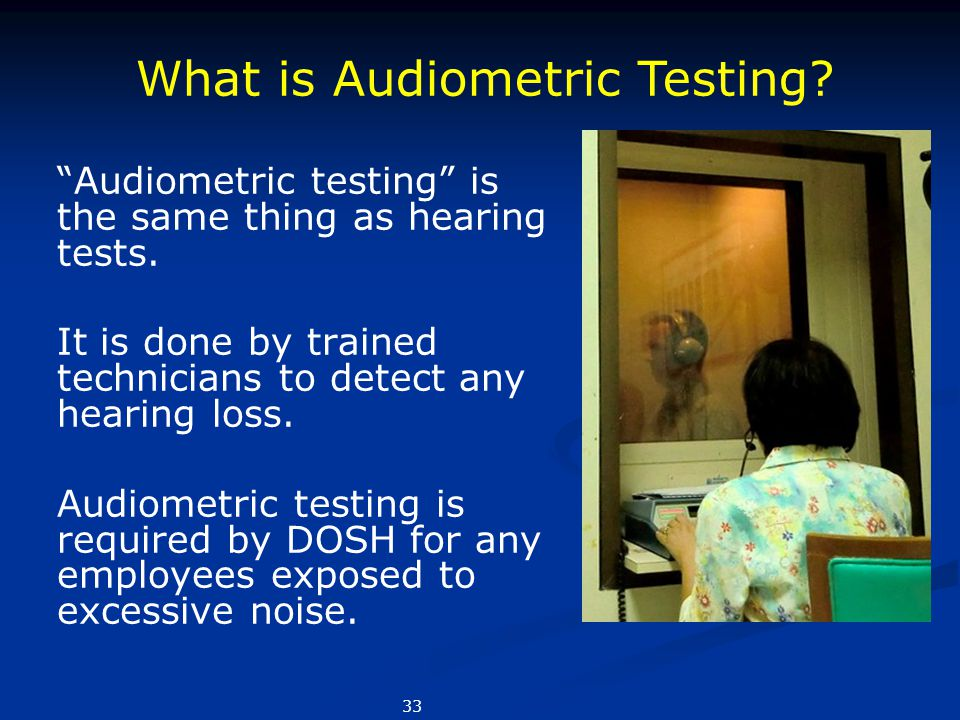 What is Audiometric Testing