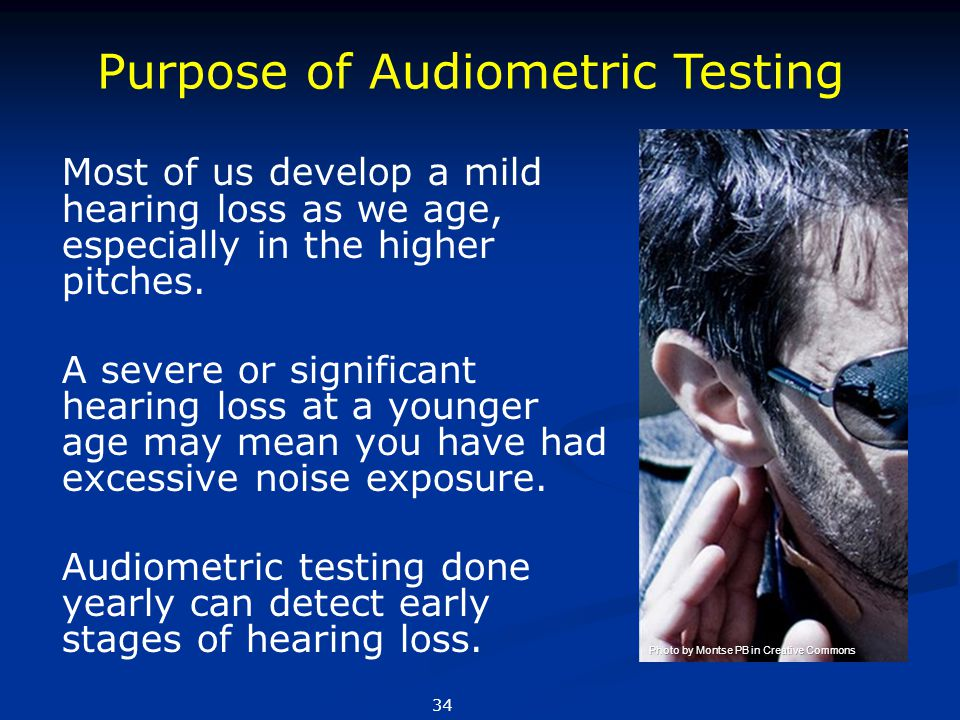 Purpose of Audiometric Testing