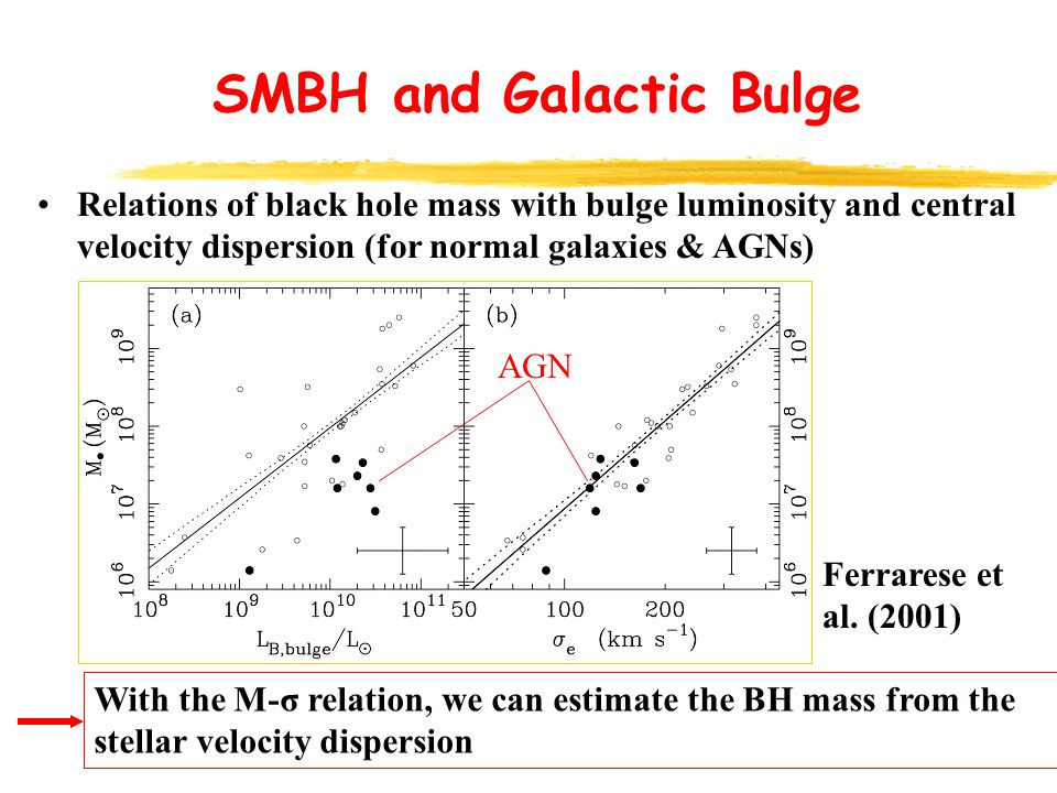 SMBH and Galactic Bulge