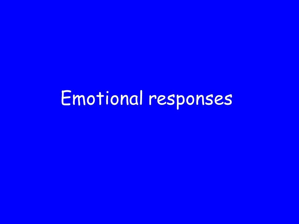 Emotional responses