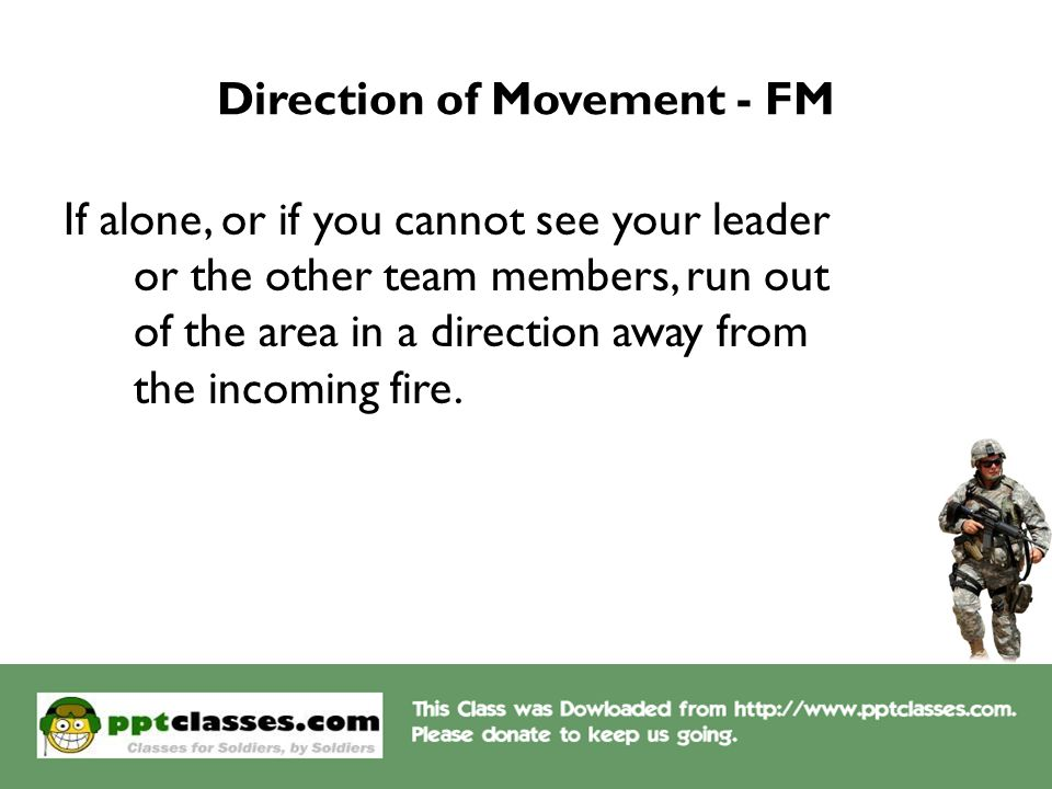 Direction of Movement - FM
