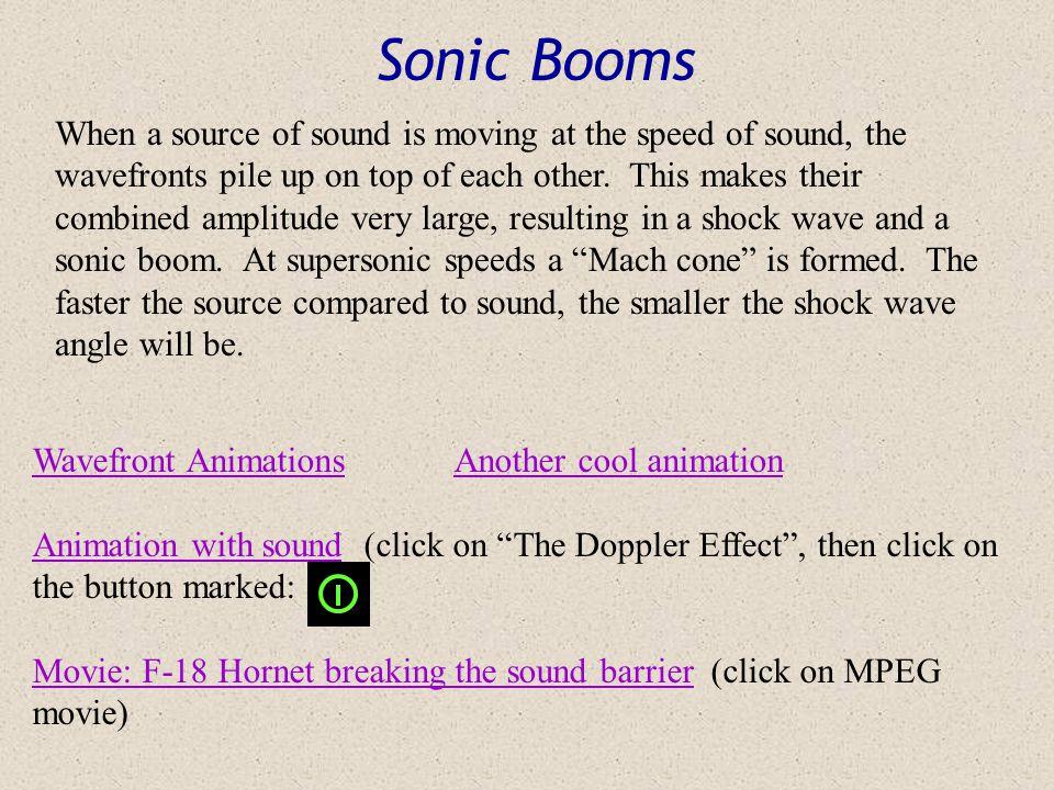 Sonic Booms