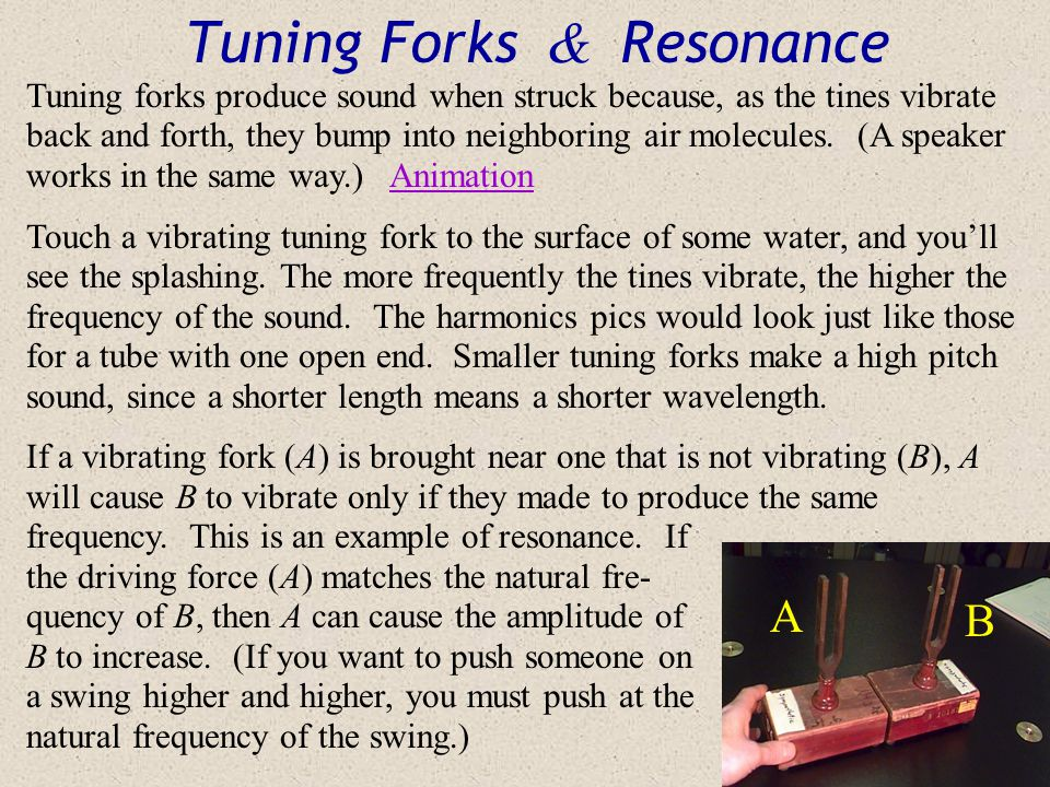 Tuning Forks & Resonance