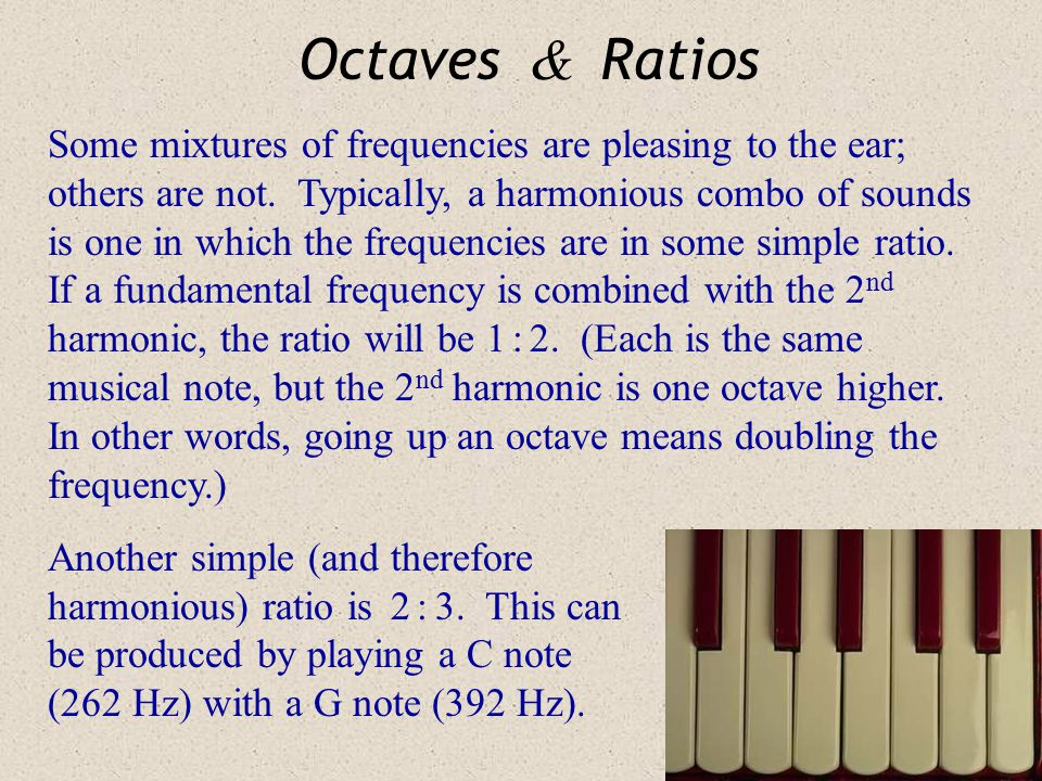 Octaves & Ratios