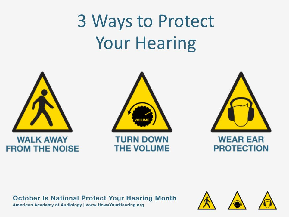 3 Ways to Protect Your Hearing
