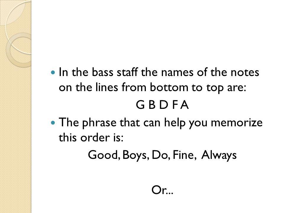 Good, Boys, Do, Fine, Always