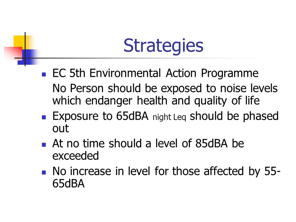 Strategies EC 5th Environmental Action Programme