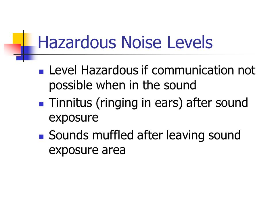 Environmental Noise and Health: The Latest Evidence - ppt ...