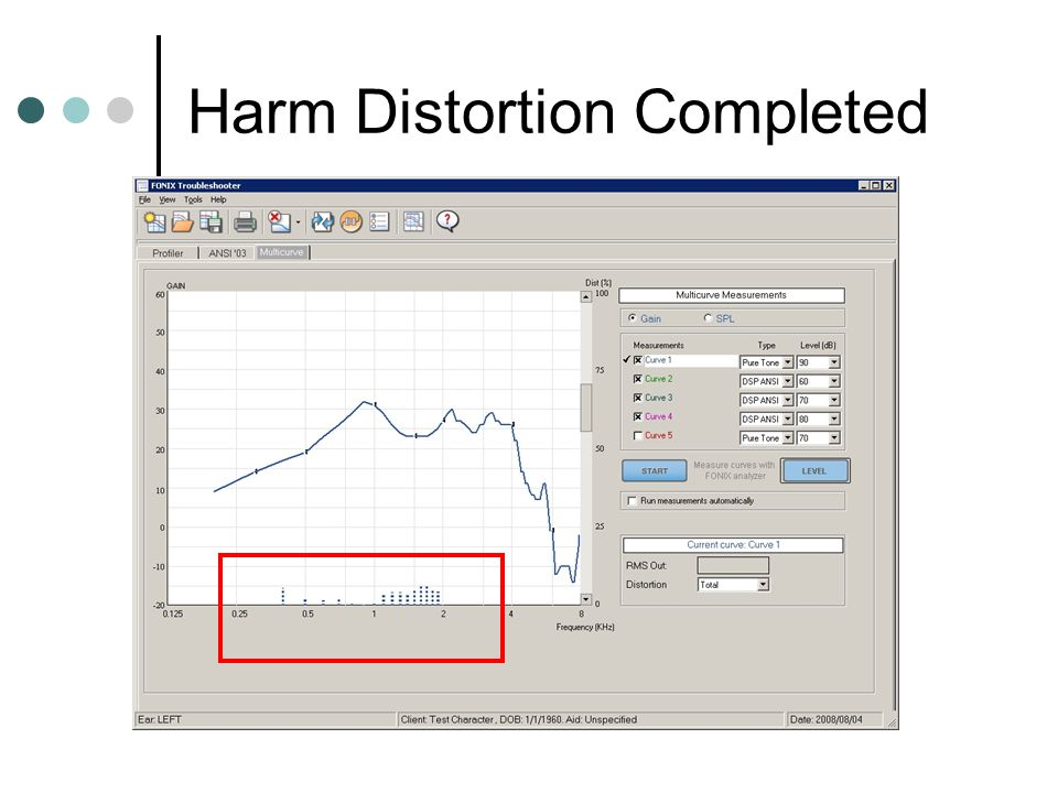 Harm Distortion Completed