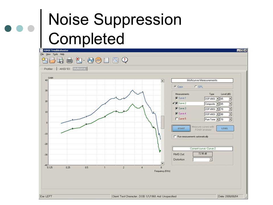 Noise Suppression Completed