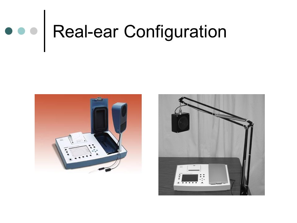 Real-ear Configuration