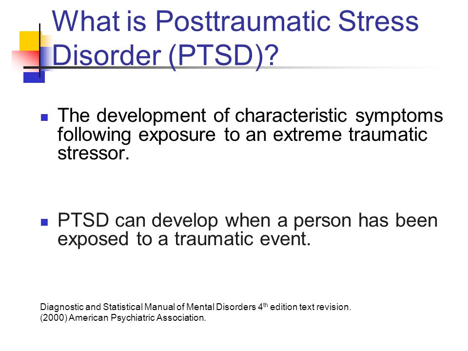 What is Posttraumatic Stress Disorder (PTSD)