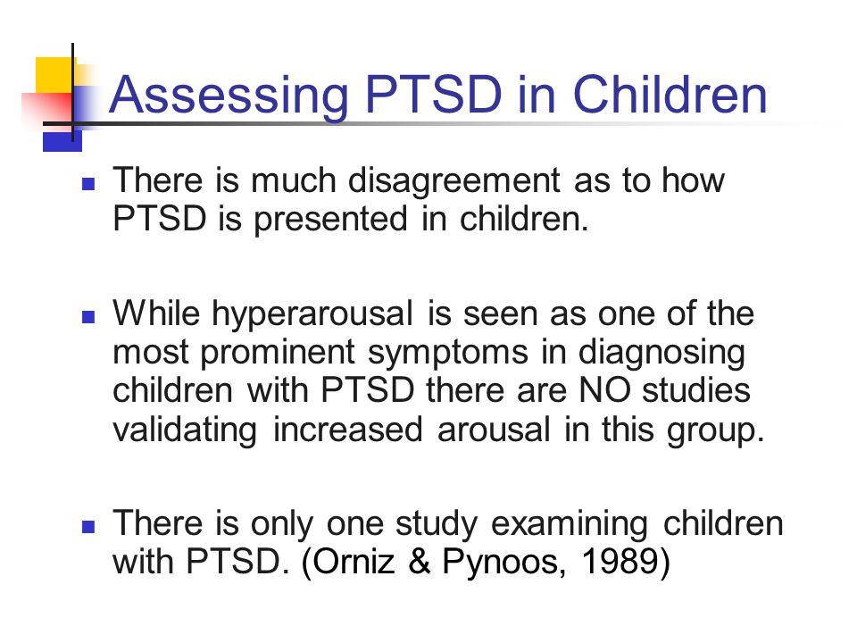 Assessing PTSD in Children