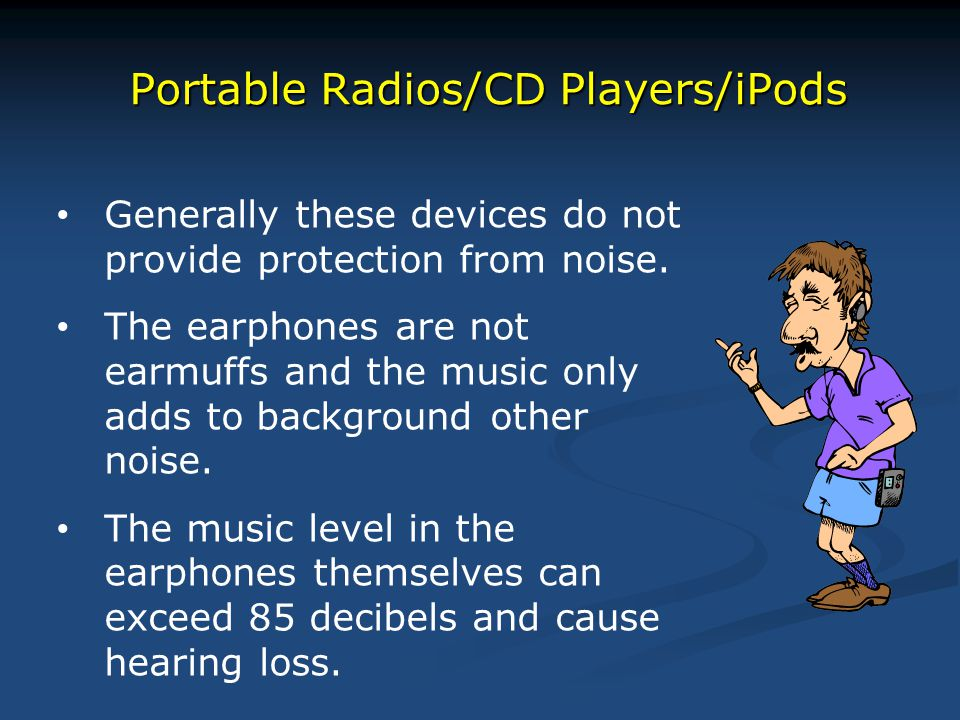 Portable Radios/CD Players/iPods