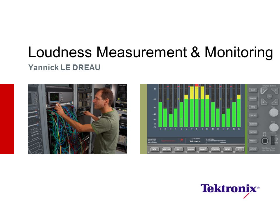 Loudness Measurement & Monitoring