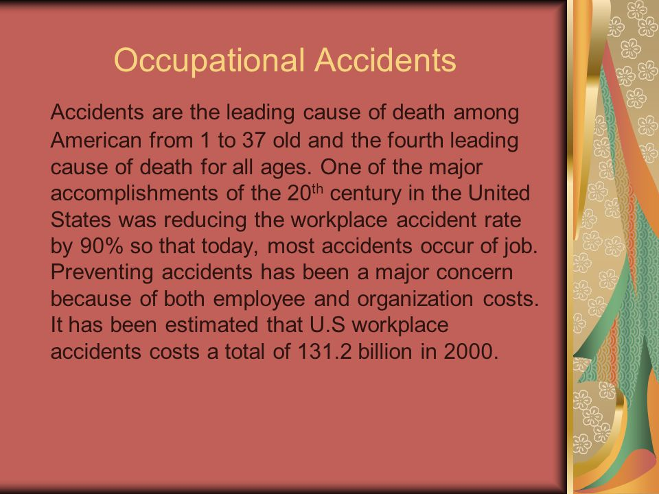 Occupational Accidents