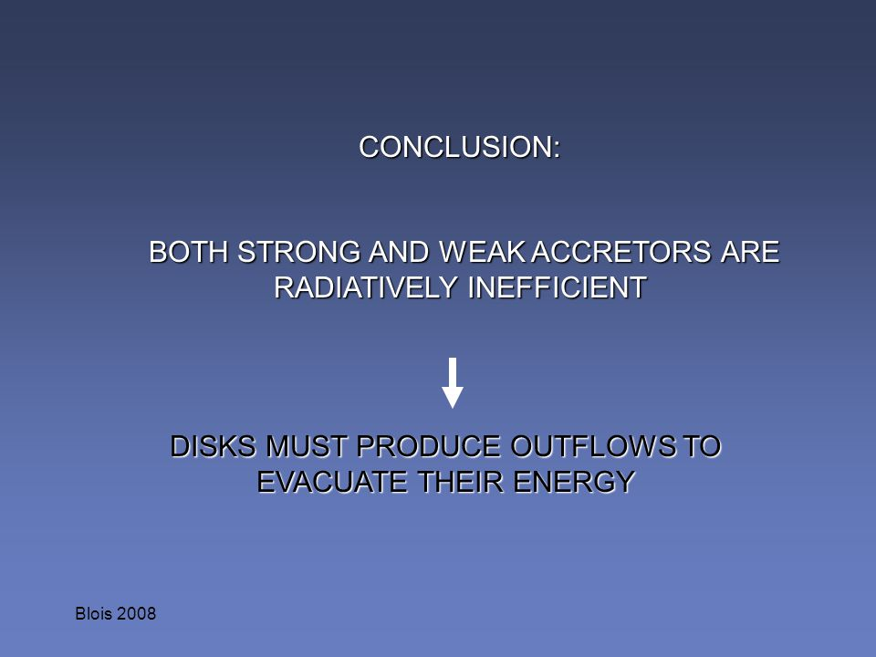 BOTH STRONG AND WEAK ACCRETORS ARE RADIATIVELY INEFFICIENT