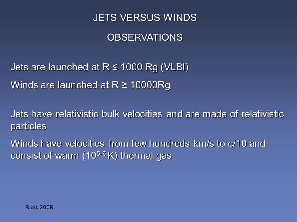 Jets are launched at R ≤ 1000 Rg (VLBI)