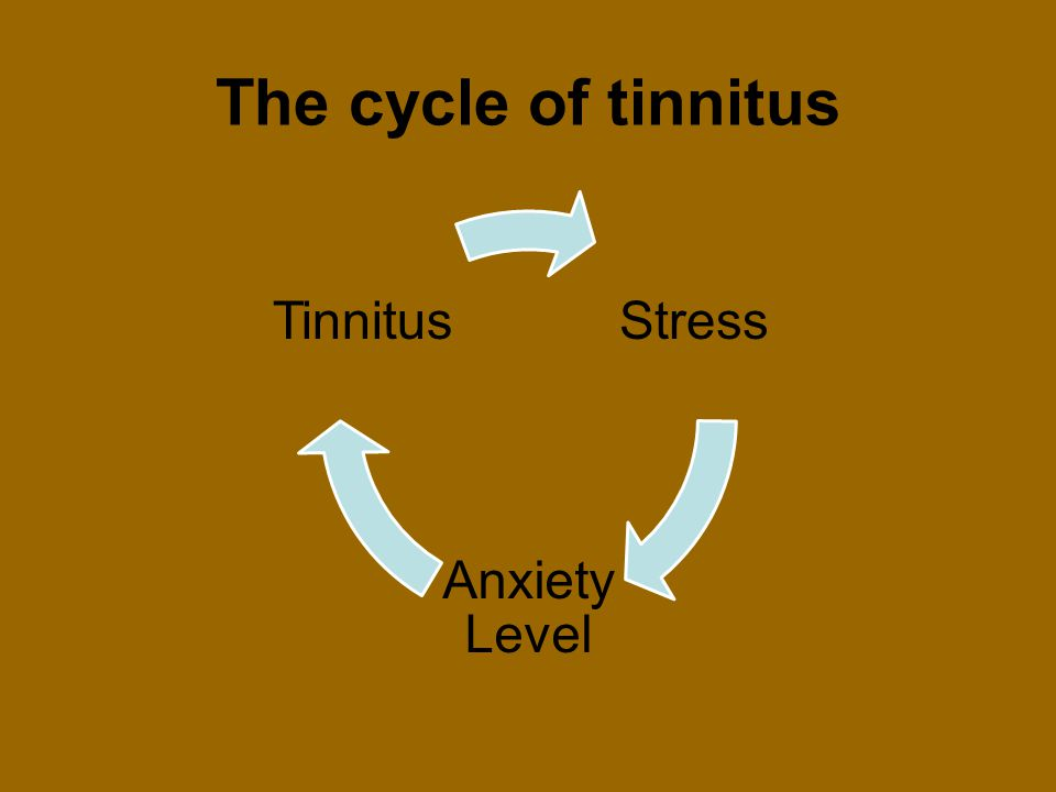 The cycle of tinnitus Stress Anxiety Level Tinnitus