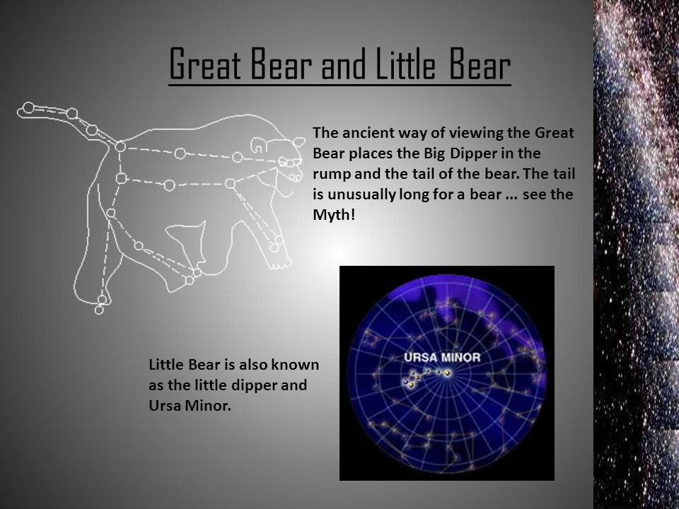 Great Bear and Little Bear