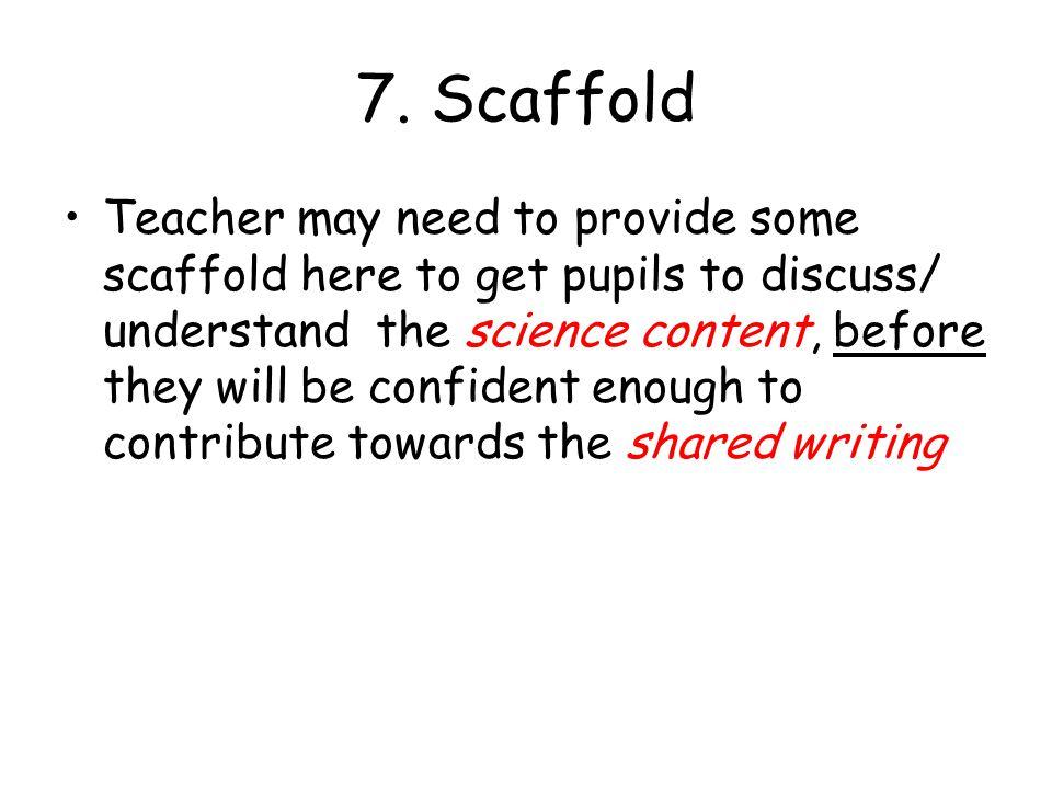 7. Scaffold