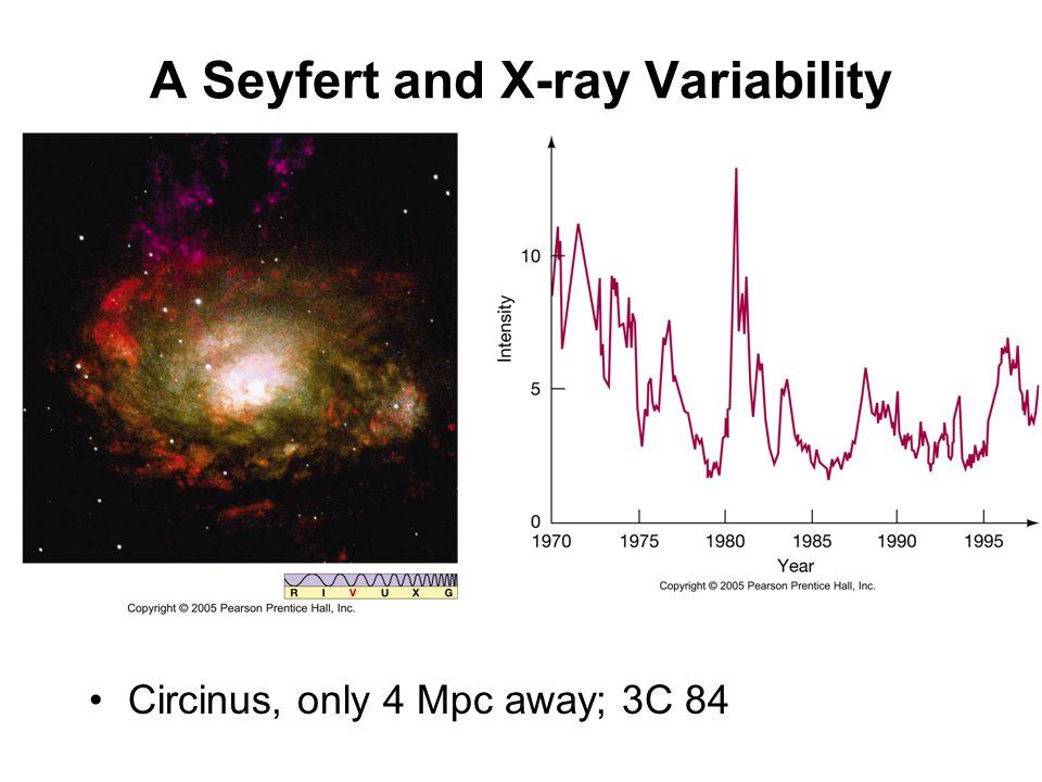 A Seyfert and X-ray Variability