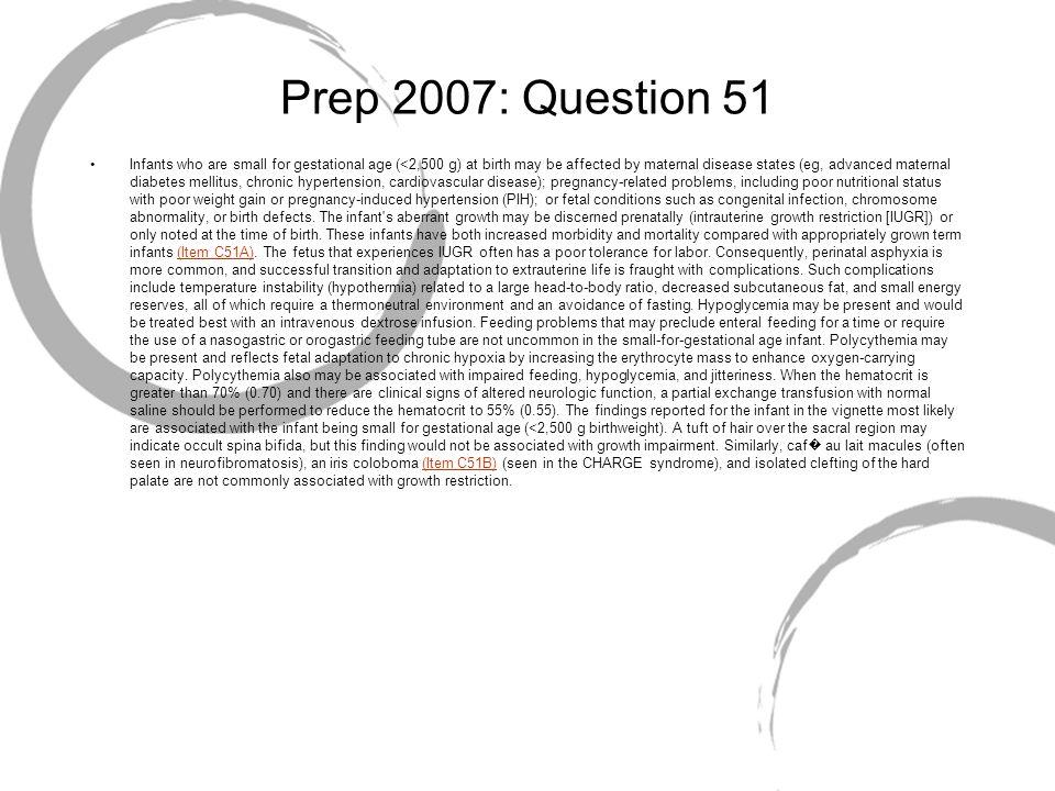 Prep 2007: Question 51