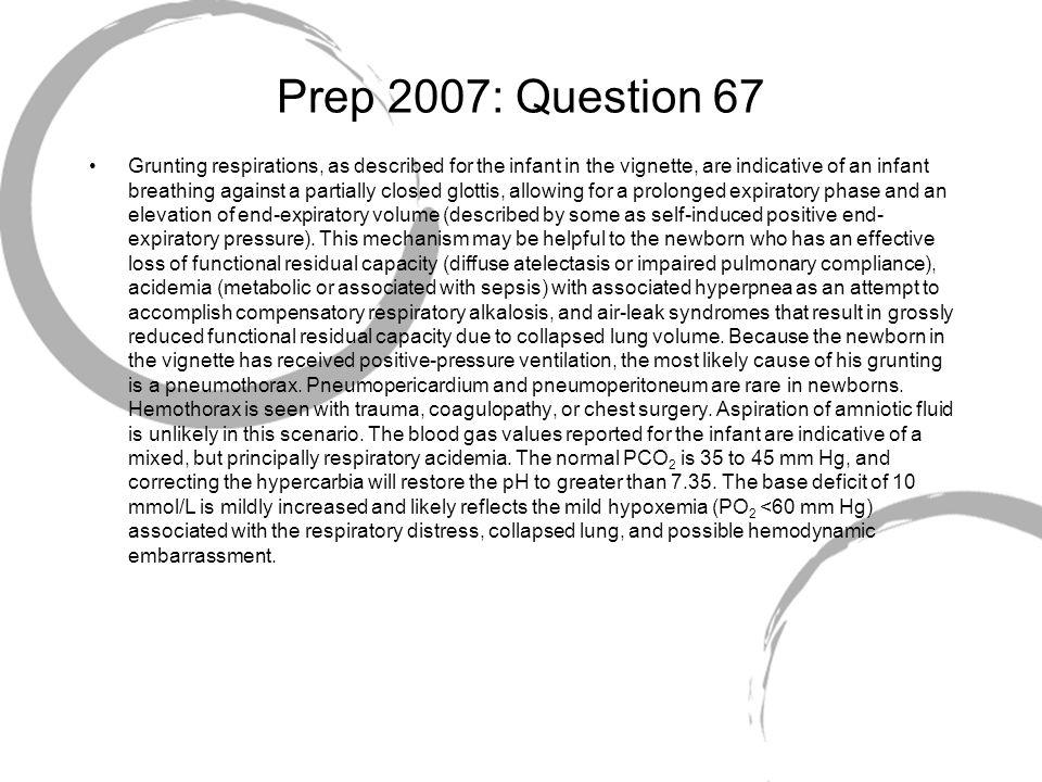Prep 2007: Question 67
