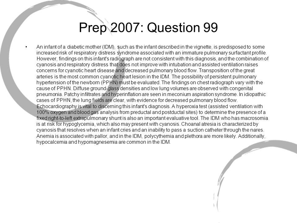 Prep 2007: Question 99