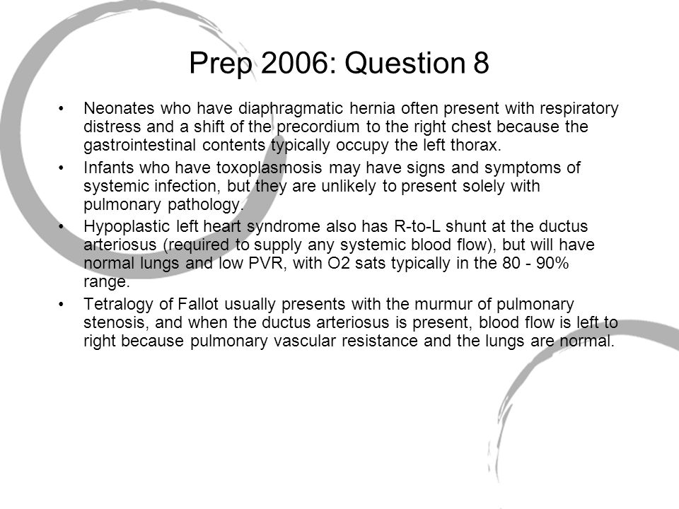 Prep 2006: Question 8