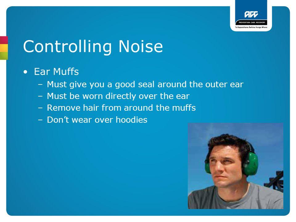 Controlling Noise Ear Muffs