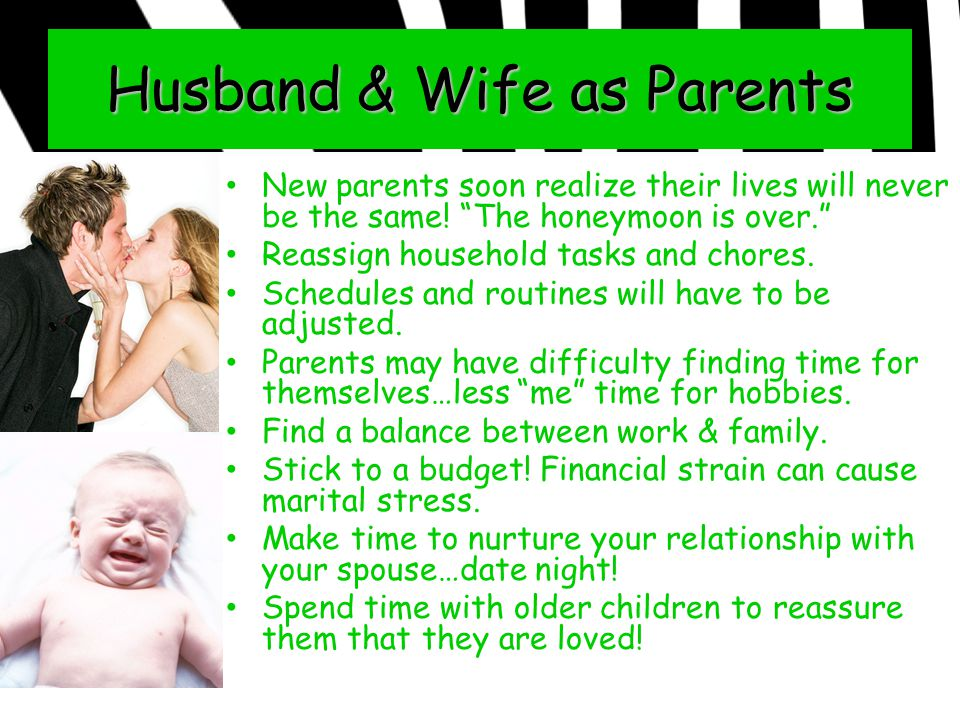 Husband & Wife as Parents