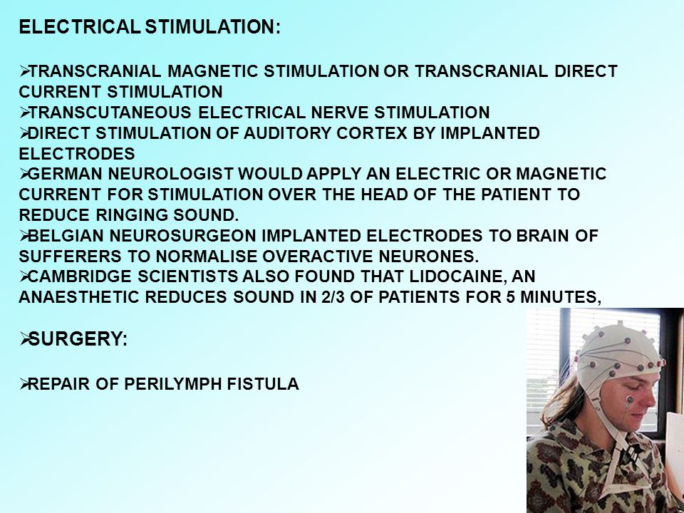 ELECTRICAL STIMULATION: