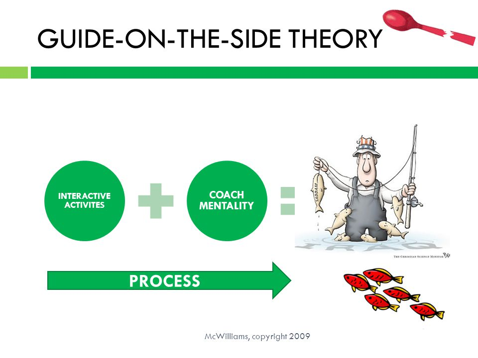 GUIDE-ON-THE-SIDE THEORY