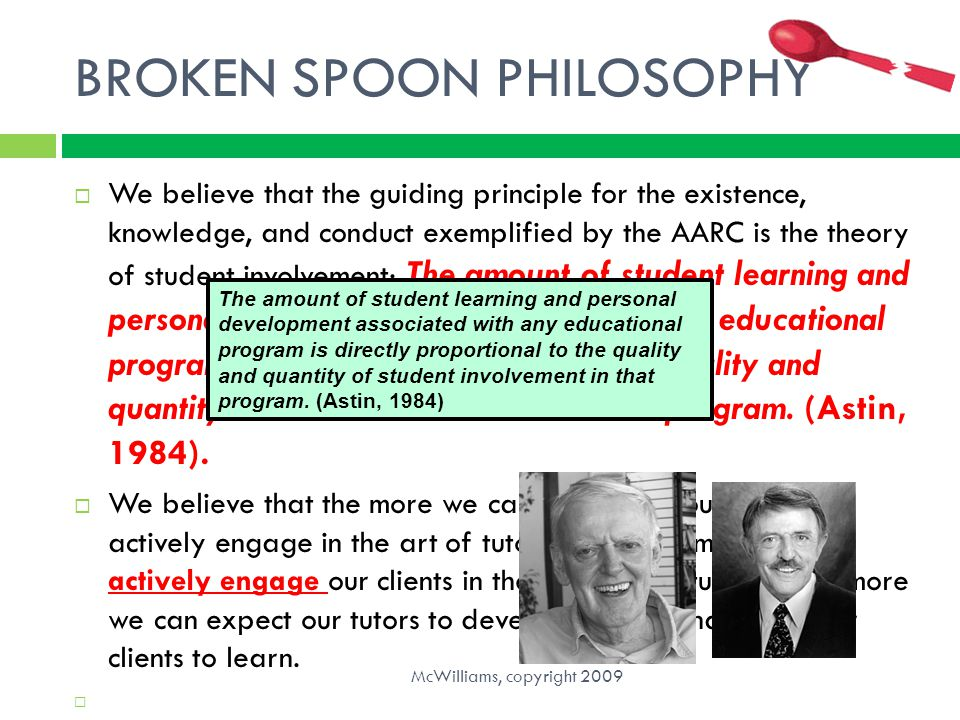 BROKEN SPOON PHILOSOPHY